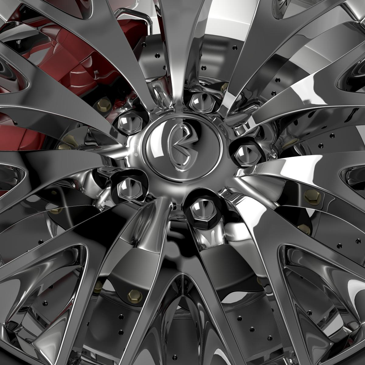 infinity ml wheel 3d model 3ds max fbx c4d lwo ma mb hrc xsi obj 210702