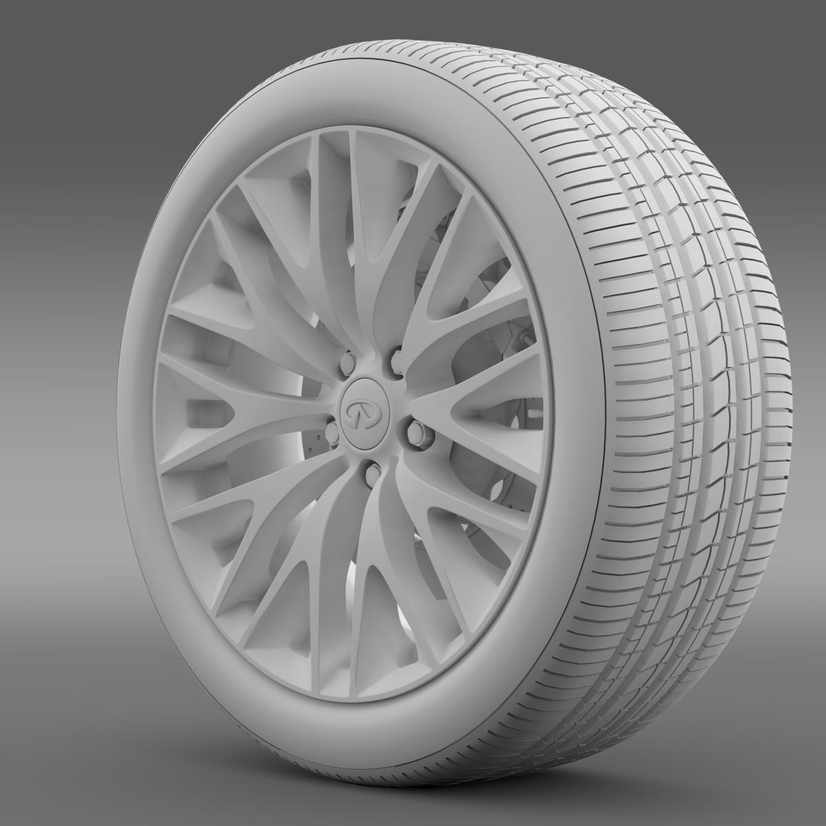 infinity ml wheel 3d model 3ds max fbx c4d lwo ma mb hrc xsi obj 210703