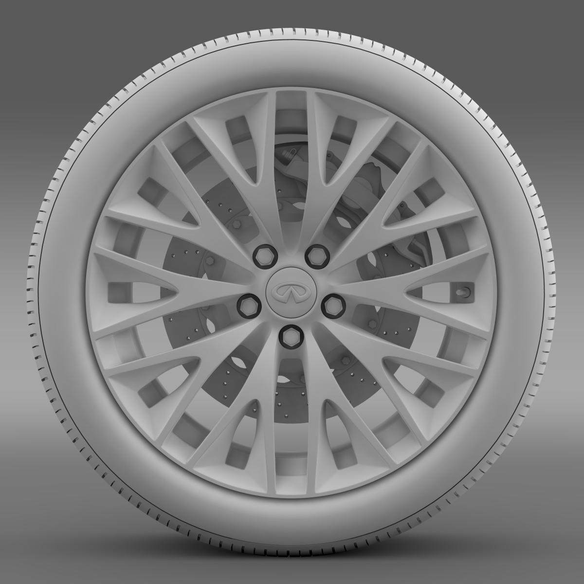infinity ml wheel 3d model 3ds max fbx c4d lwo ma mb hrc xsi obj 210704