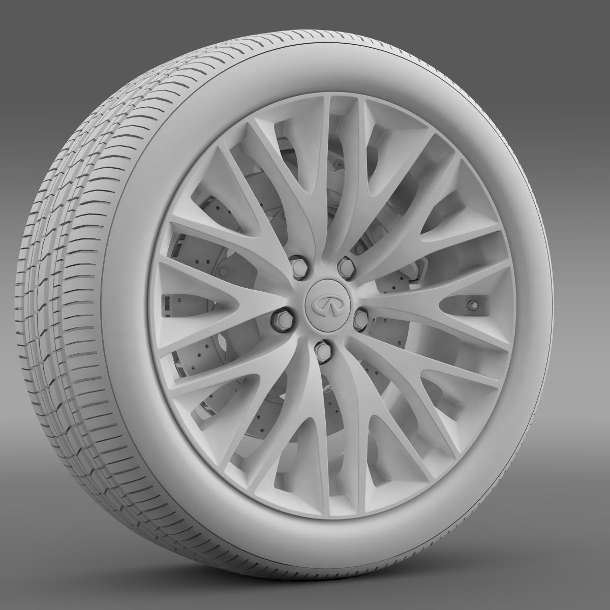 infinity ml wheel 3d model 3ds max fbx c4d lwo ma mb hrc xsi obj 210705
