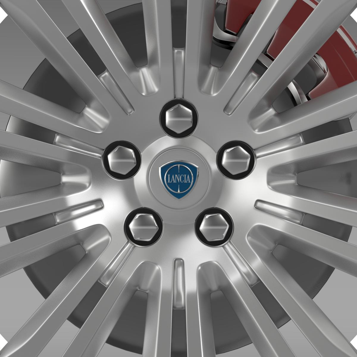 lancia thema 2014 wheel 3d model 3ds max fbx c4d lwo ma mb hrc xsi obj 210732
