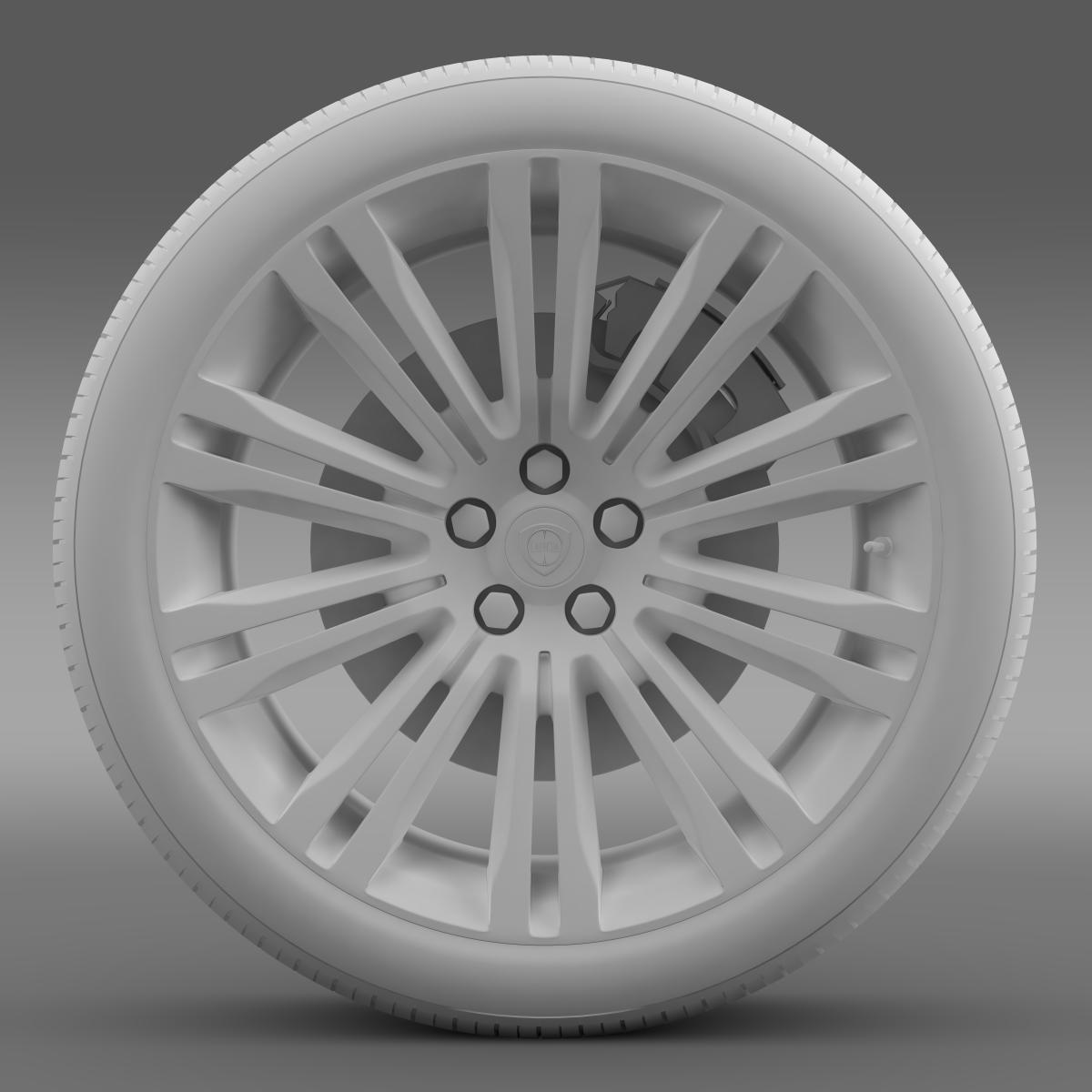 lancia thema 2014 wheel 3d model 3ds max fbx c4d lwo ma mb hrc xsi obj 210735