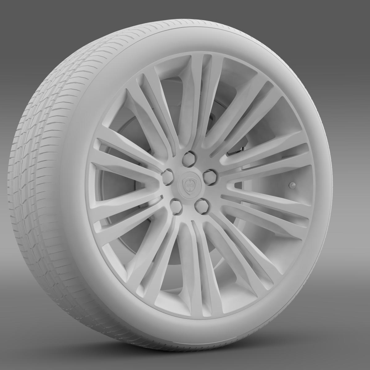 lancia thema 2014 wheel 3d model 3ds max fbx c4d lwo ma mb hrc xsi obj 210736