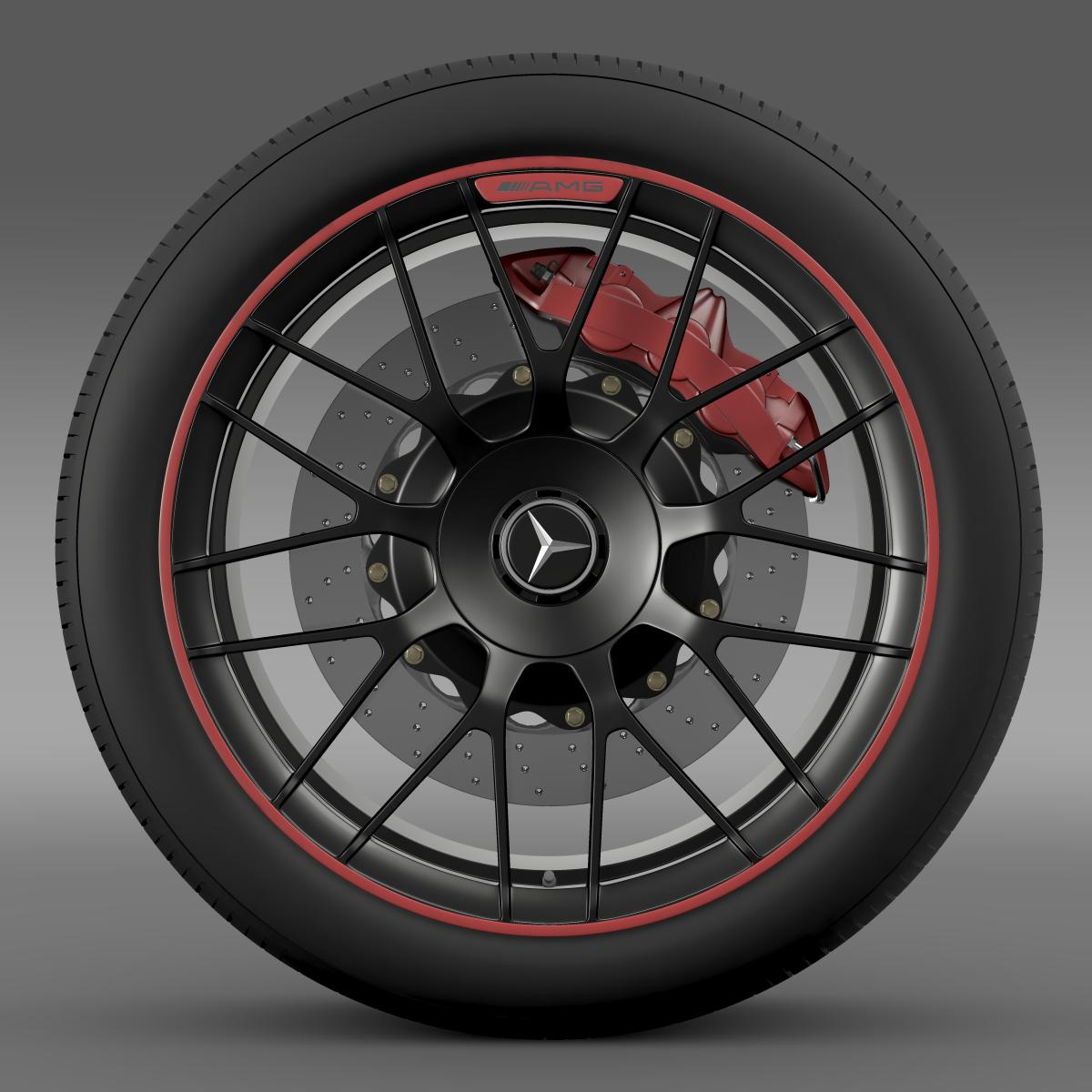 mercedes amg c 63 s edition wheel 3d model 3ds max fbx c4d lwo ma mb hrc xsi obj 210743