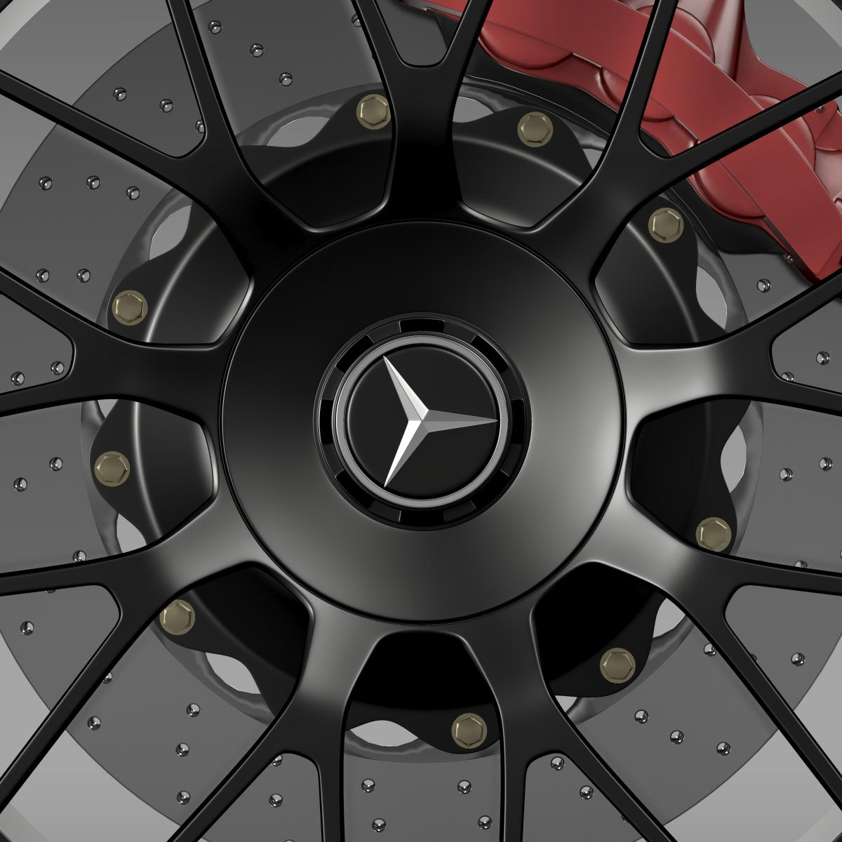 mercedes amg c 63 s edition wheel 3d model 3ds max fbx c4d lwo ma mb hrc xsi obj 210746