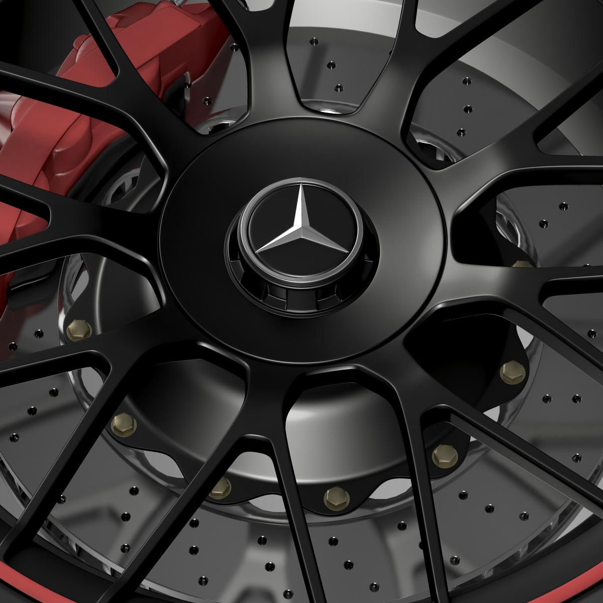mercedes amg c 63 s edition wheel 3d model 3ds max fbx c4d lwo ma mb hrc xsi obj 210747