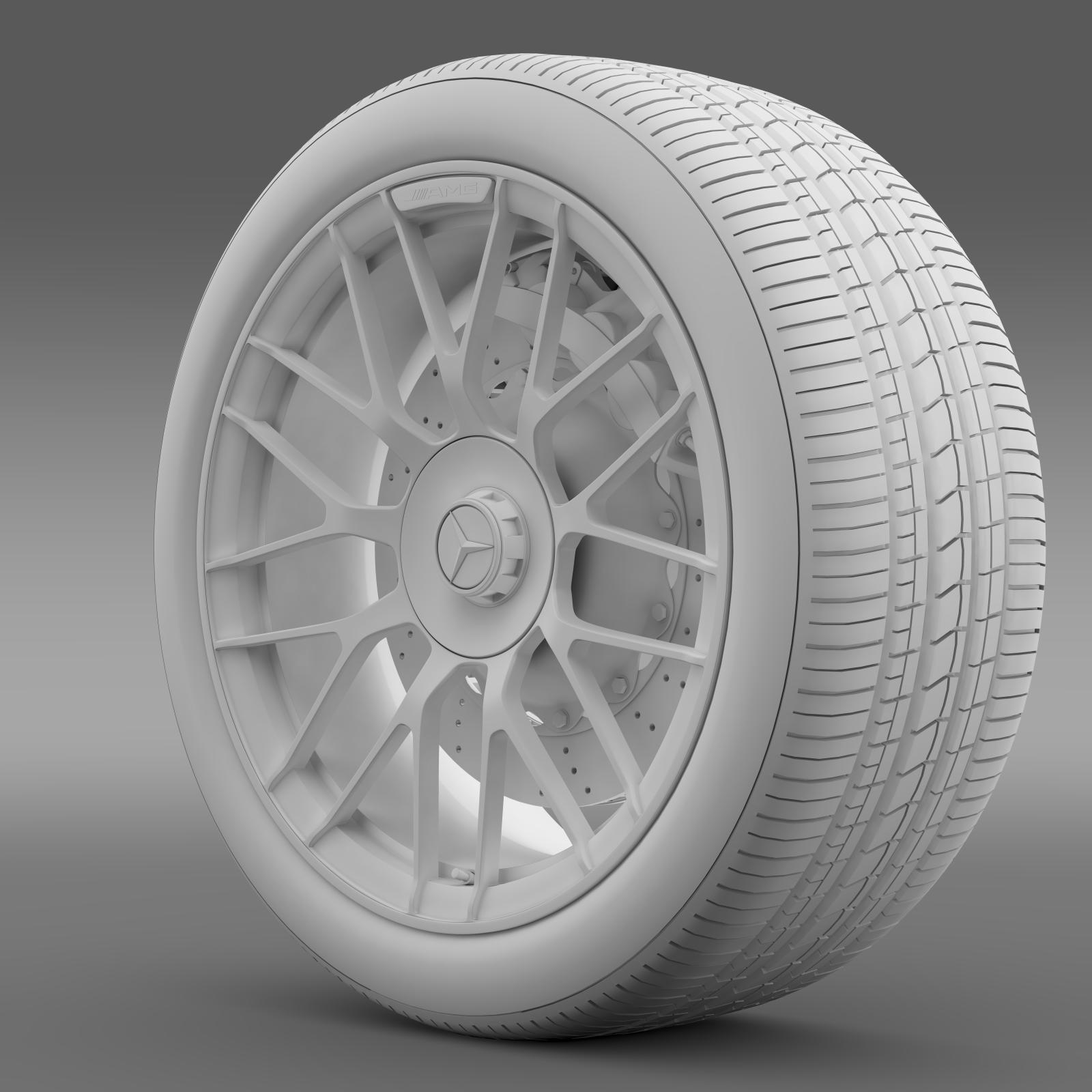 mercedes amg c 63 s edition wheel 3d model 3ds max fbx c4d lwo ma mb hrc xsi obj 210748