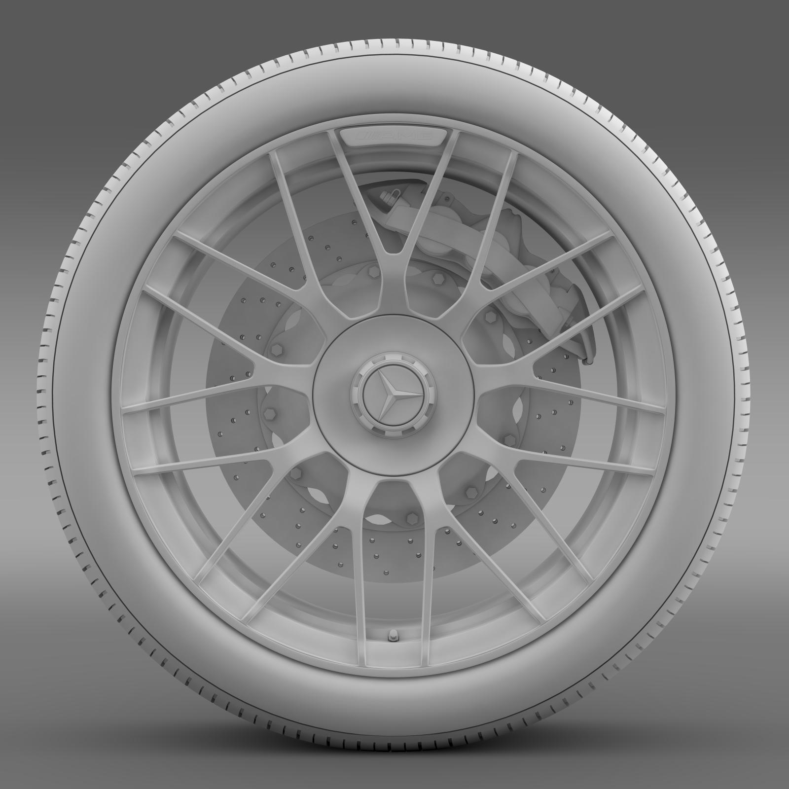 mercedes amg c 63 s edition wheel 3d model 3ds max fbx c4d lwo ma mb hrc xsi obj 210749