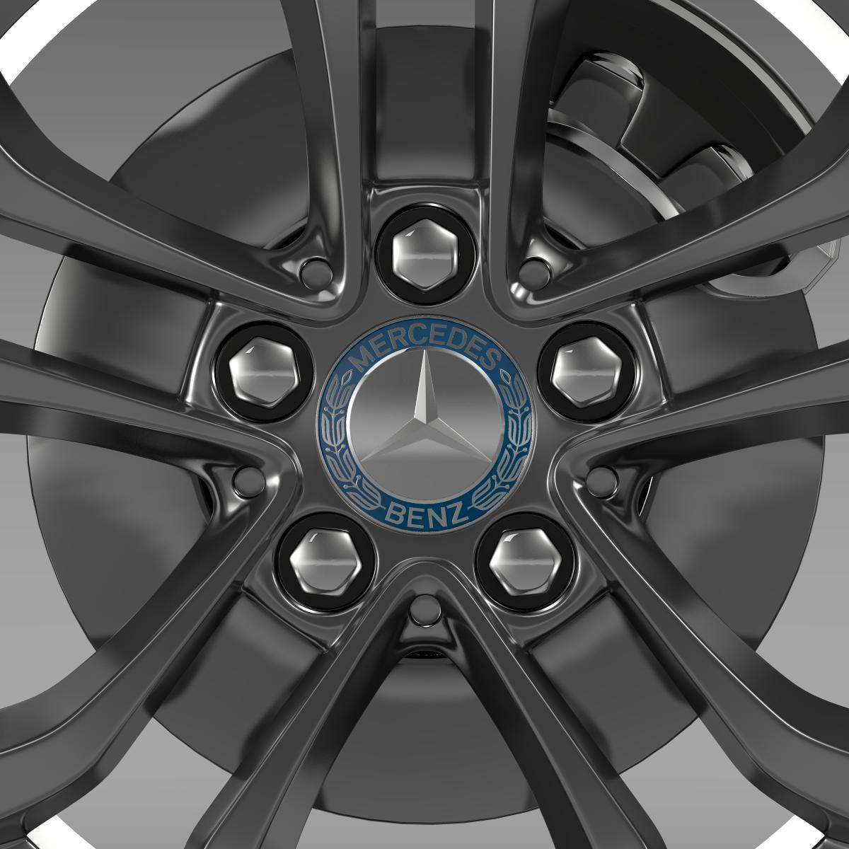 mercedes benz c 220 wheel 3d model 3ds max fbx c4d lwo ma mb hrc xsi obj 210760