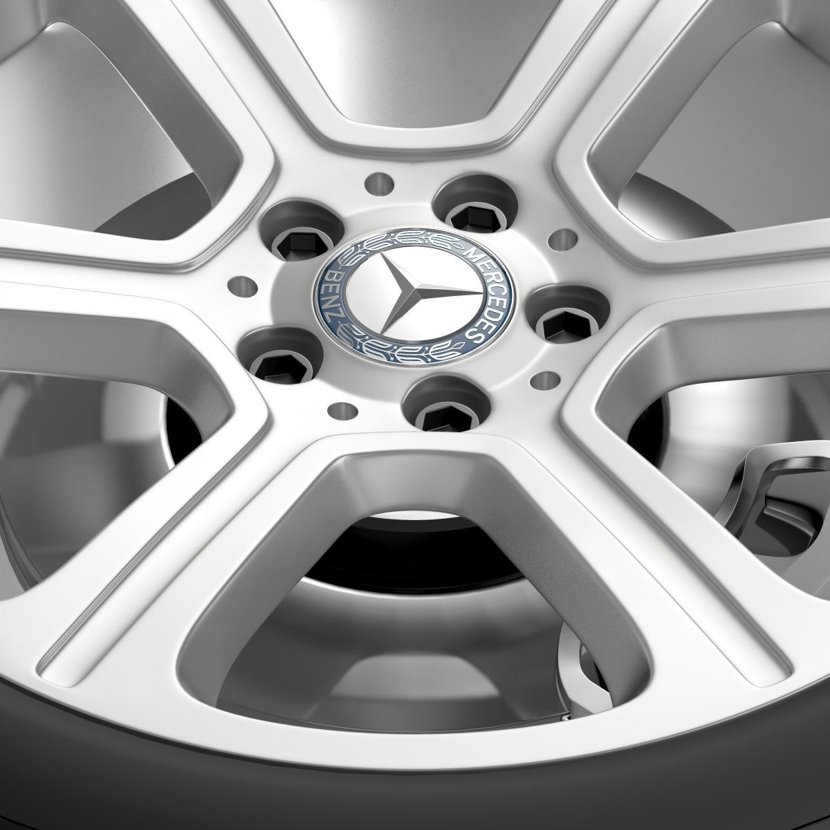 mercedes benz c 300 exclusive line wheel 3d model 3ds max fbx c4d lwo ma mb hrc xsi obj 210773