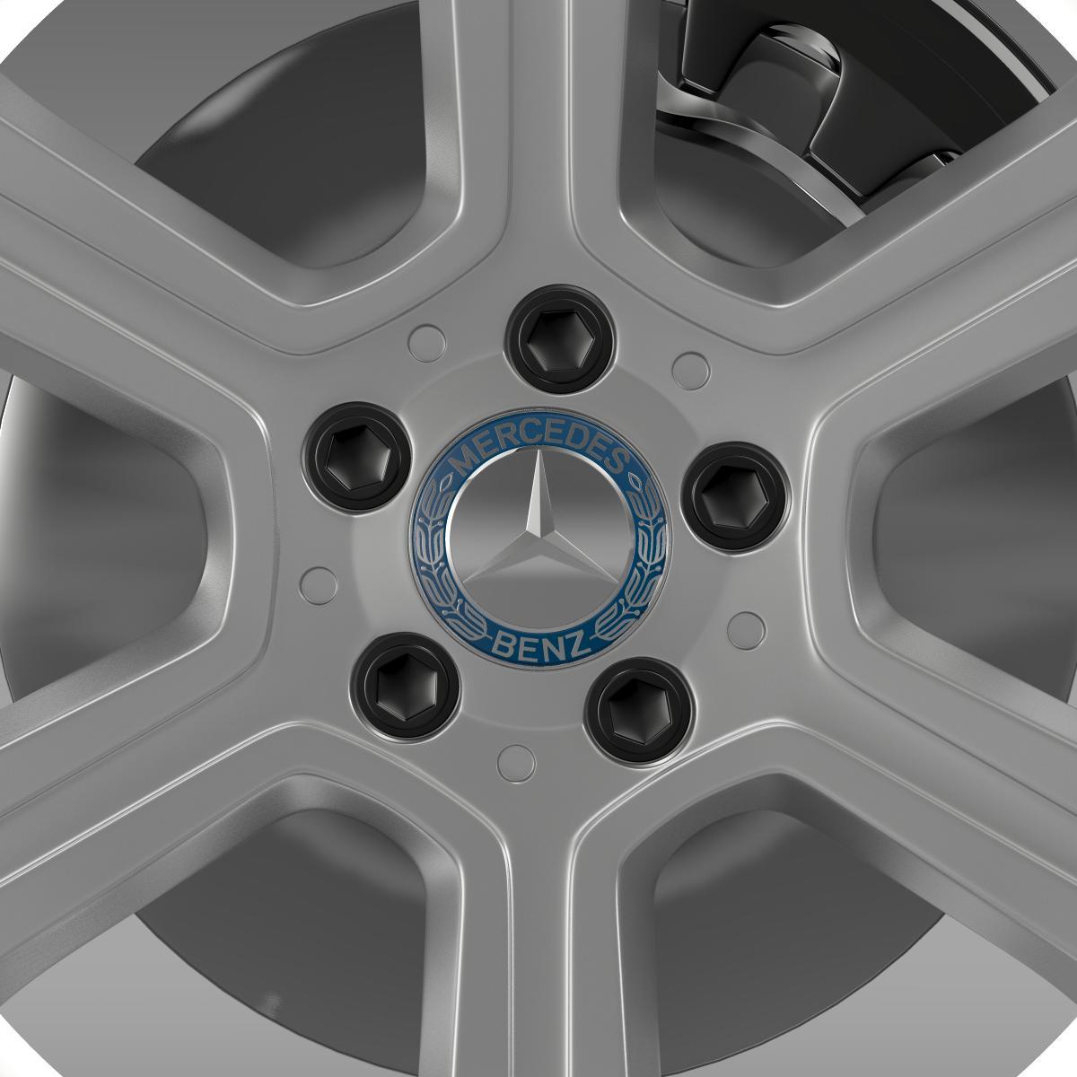 mercedes benz c 300 exclusive line wheel 3d model 3ds max fbx c4d lwo ma mb hrc xsi obj 210774