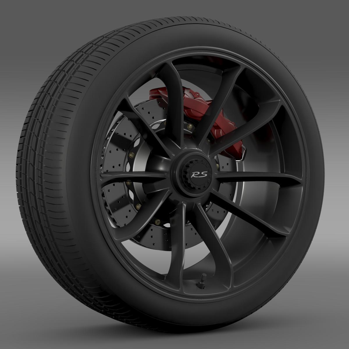 porsche 911 gt3 rs 2015 wheel 3d model 3ds max fbx c4d lwo ma mb hrc xsi obj 210830