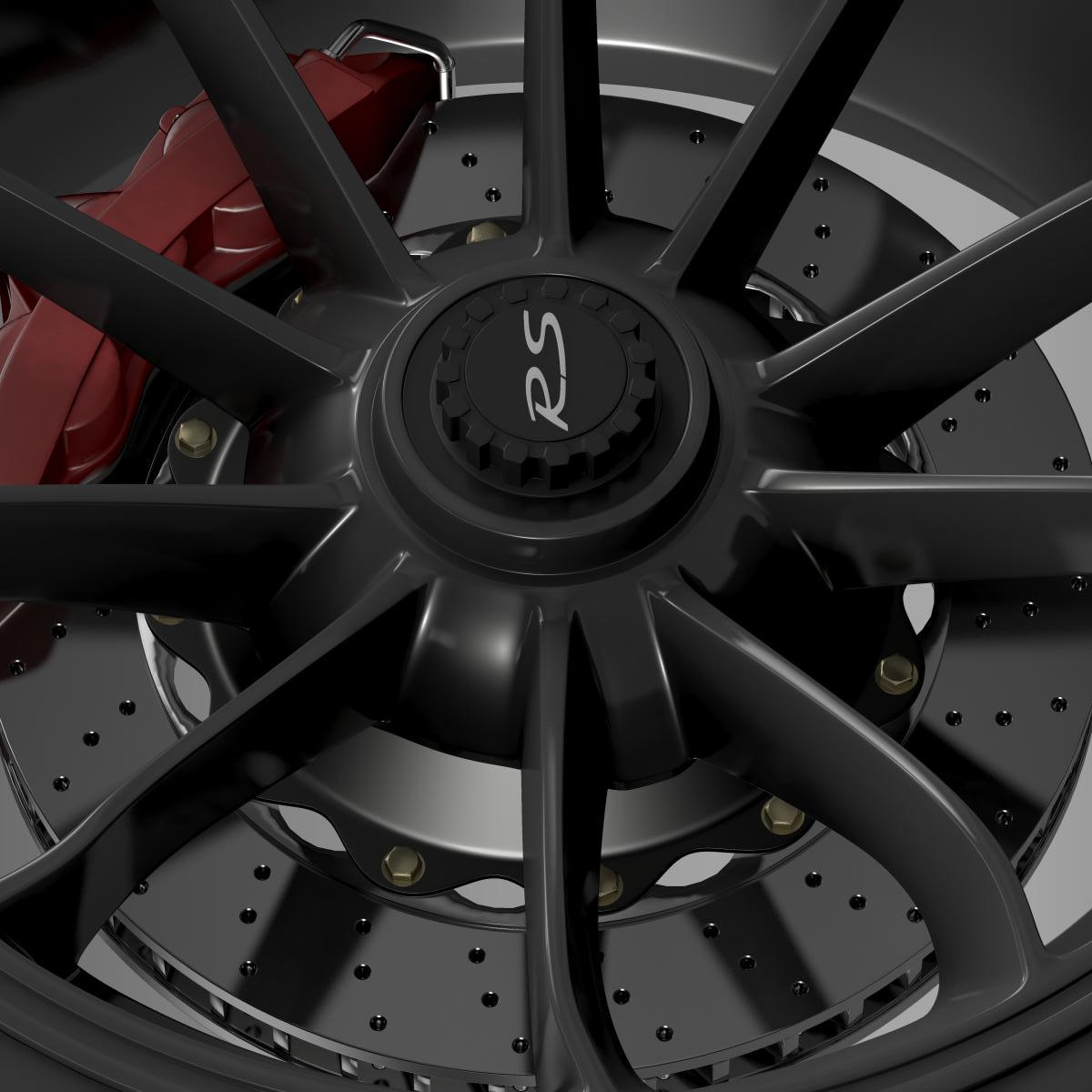 porsche 911 gt3 rs 2015 wheel 3d model 3ds max fbx c4d lwo ma mb hrc xsi obj 210833