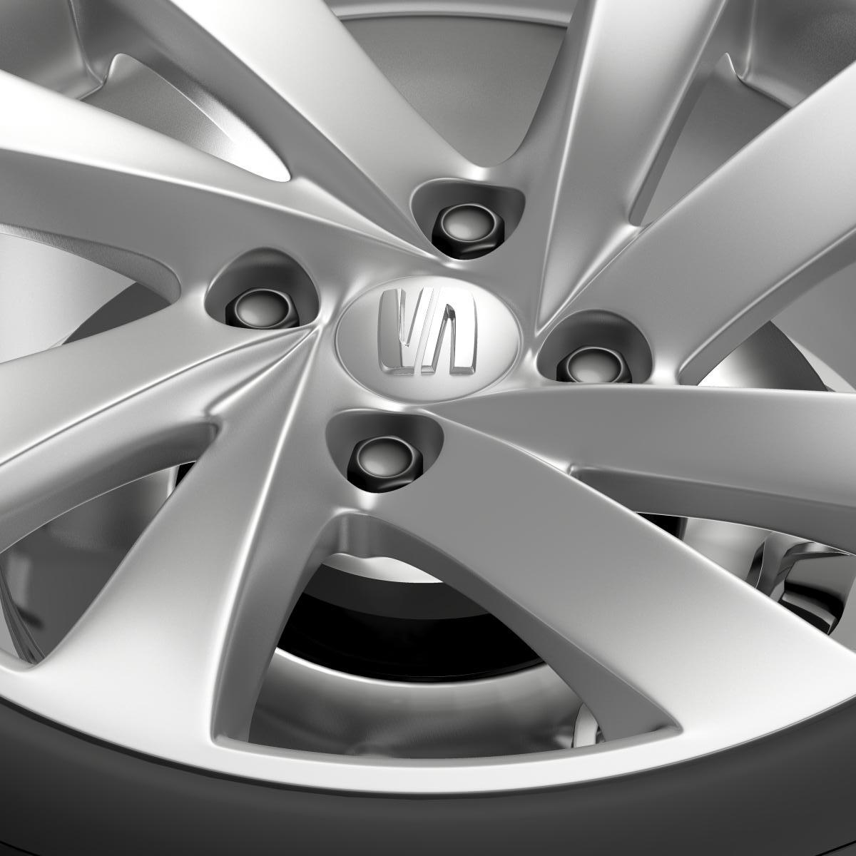 seat mii wheel 3d model 3ds max fbx c4d lwo ma mb hrc xsi obj 210859
