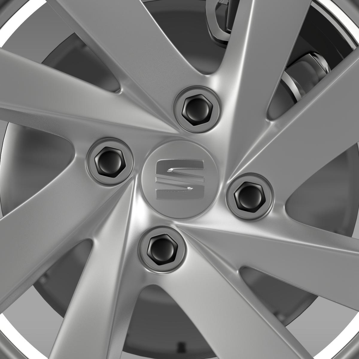 seat mii wheel 3d model 3ds max fbx c4d lwo ma mb hrc xsi obj 210860