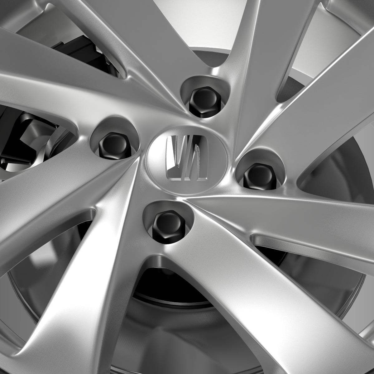 seat mii wheel 3d model 3ds max fbx c4d lwo ma mb hrc xsi obj 210861