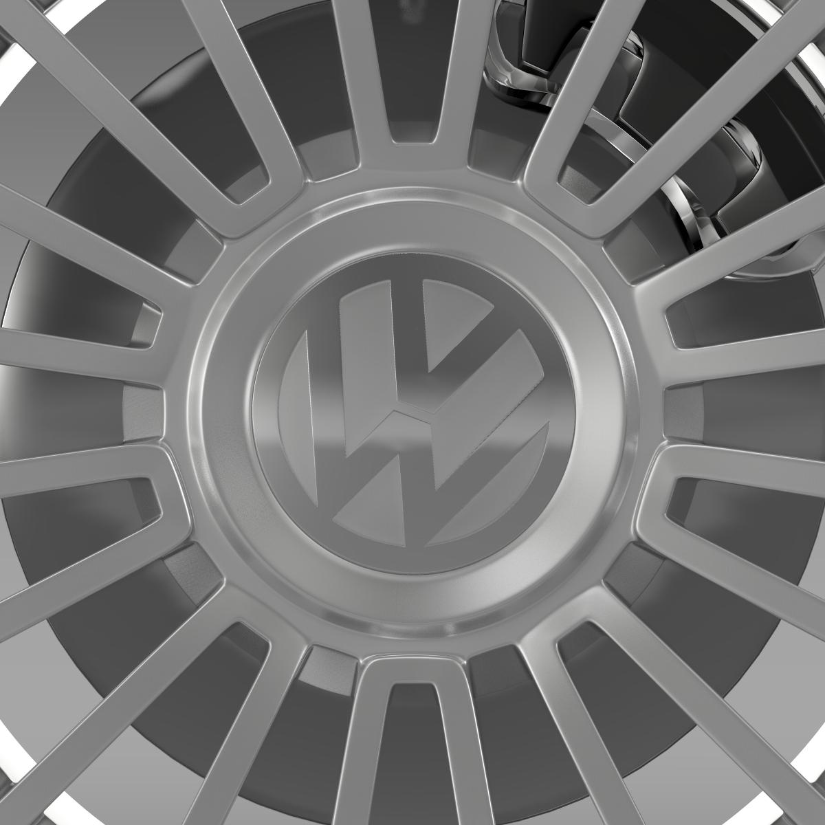 volkswagen up wheel 3d model 3ds max fbx c4d lwo ma mb hrc xsi obj 210887