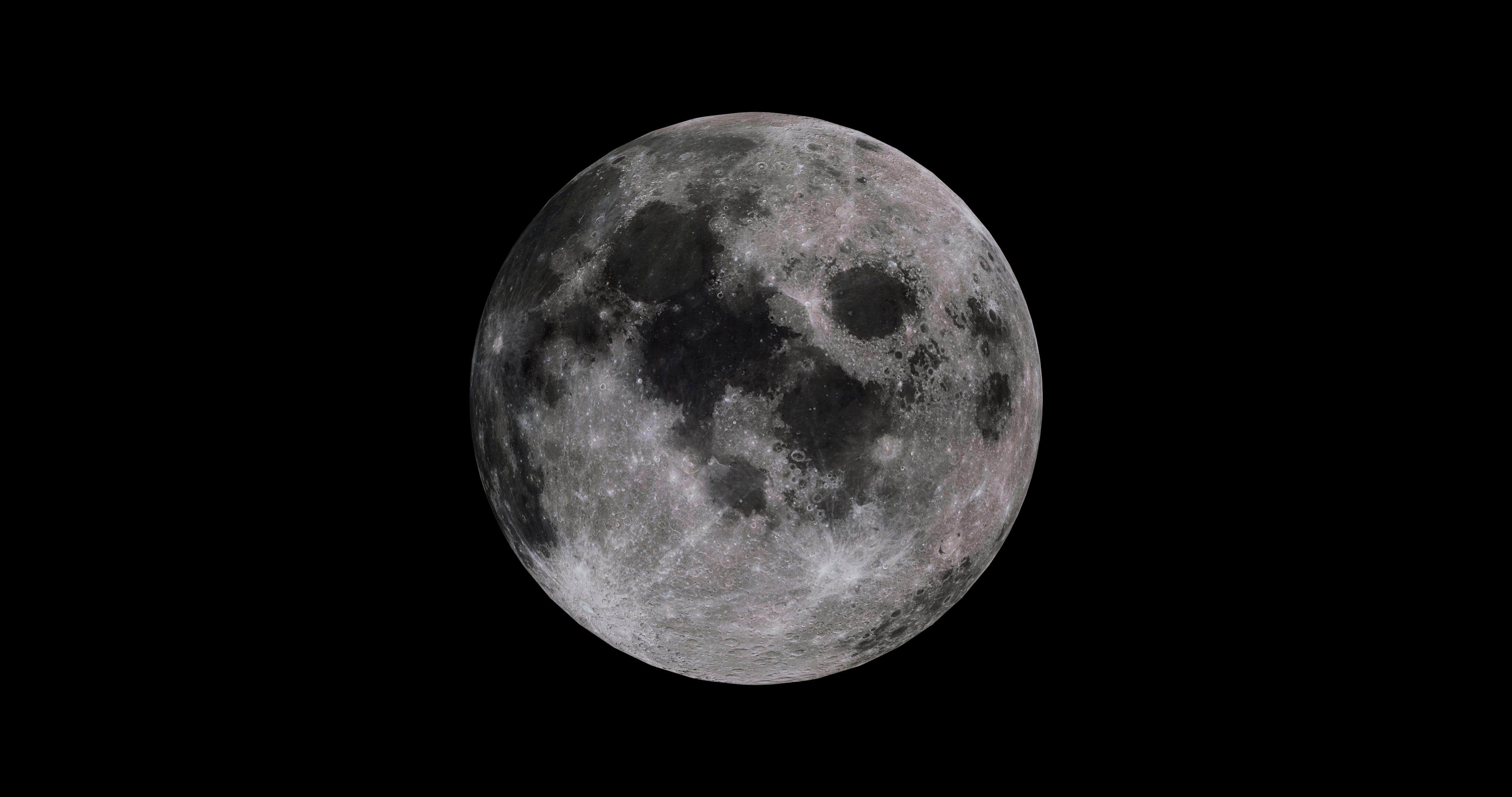 moon 8k 3d model 3ds fbx blend dae obj 210897