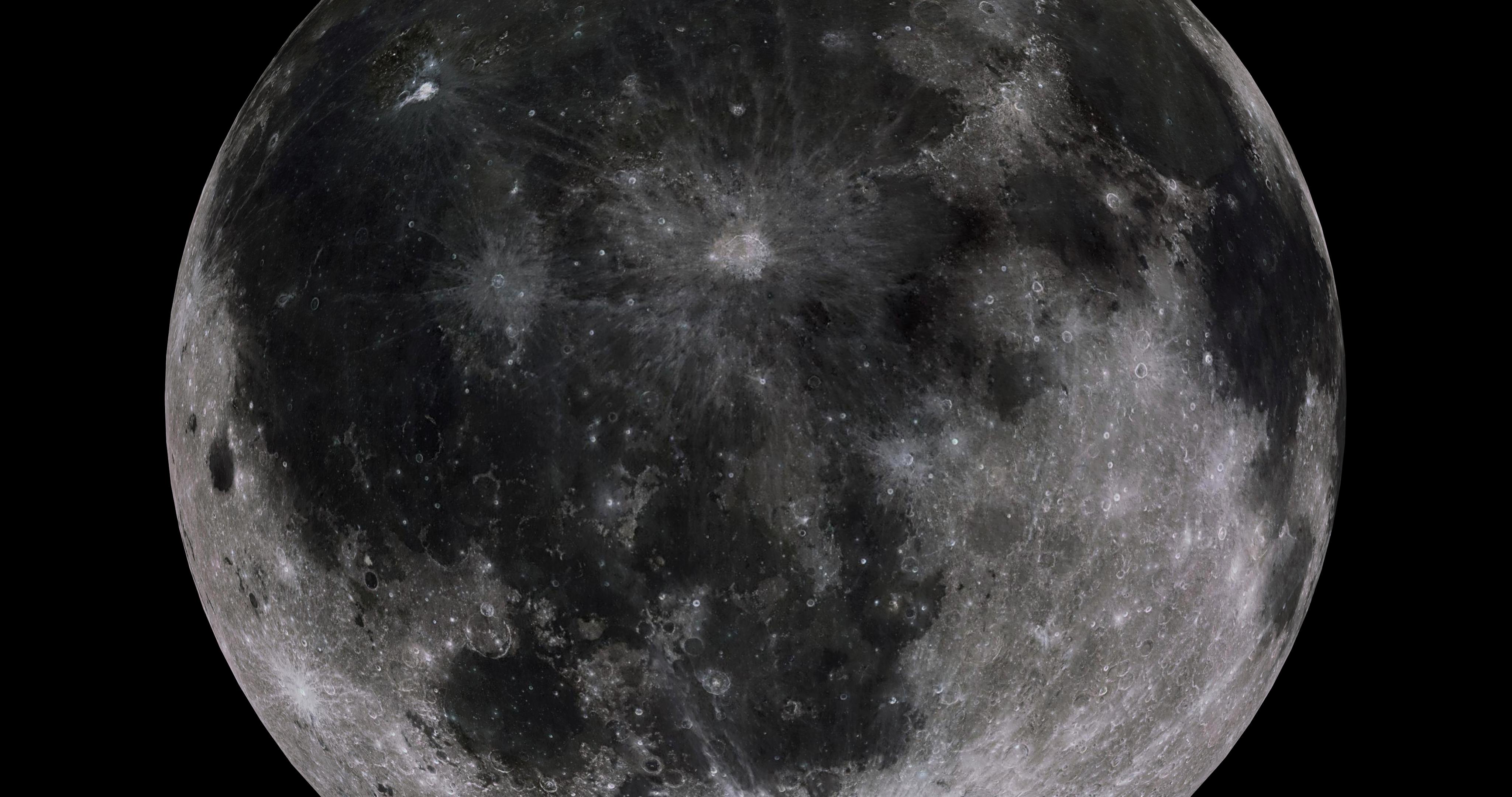 moon 8k 3d model 3ds fbx blend dae obj 210898
