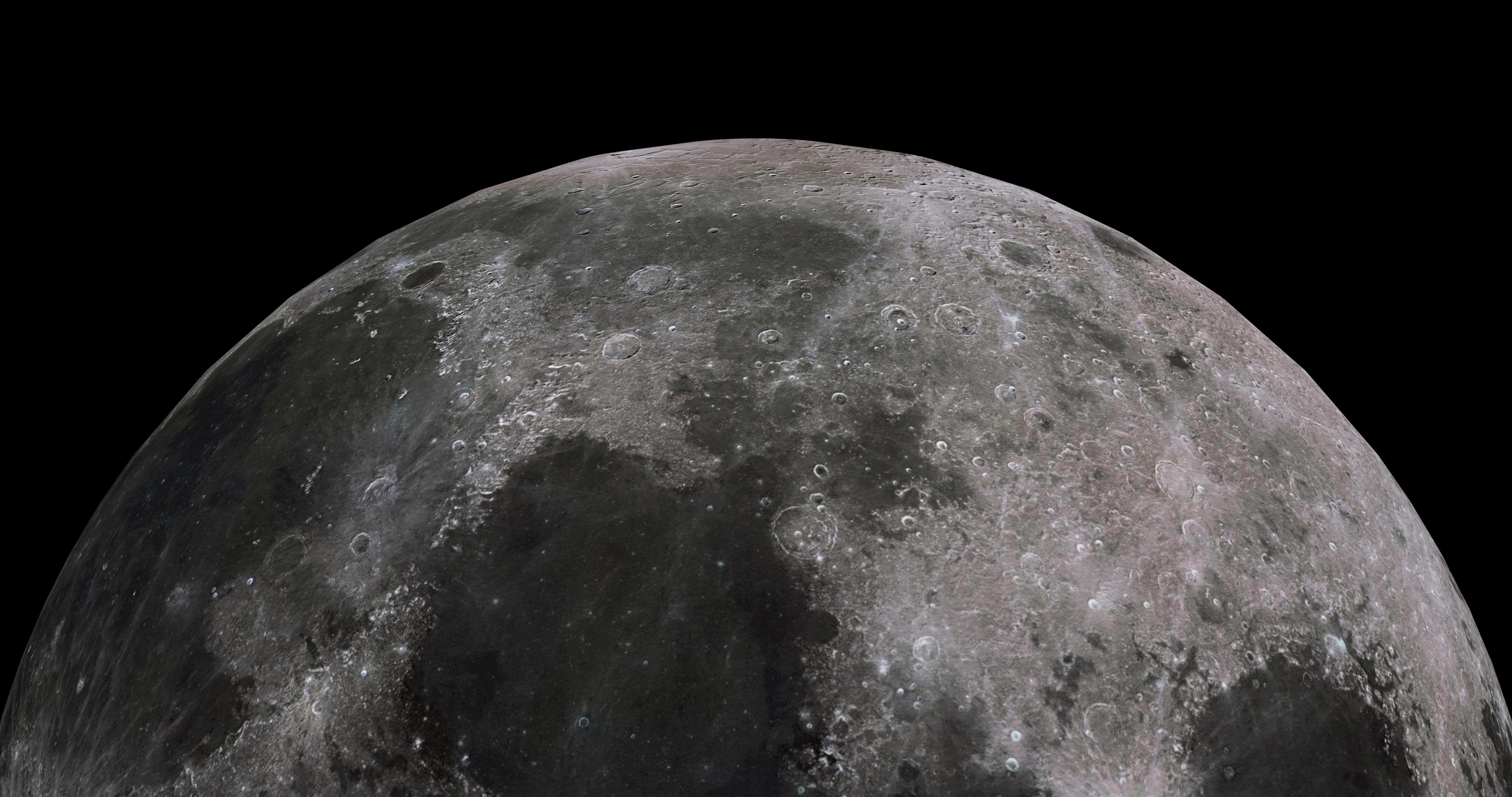 moon 8k 3d model 3ds fbx blend dae obj 210900