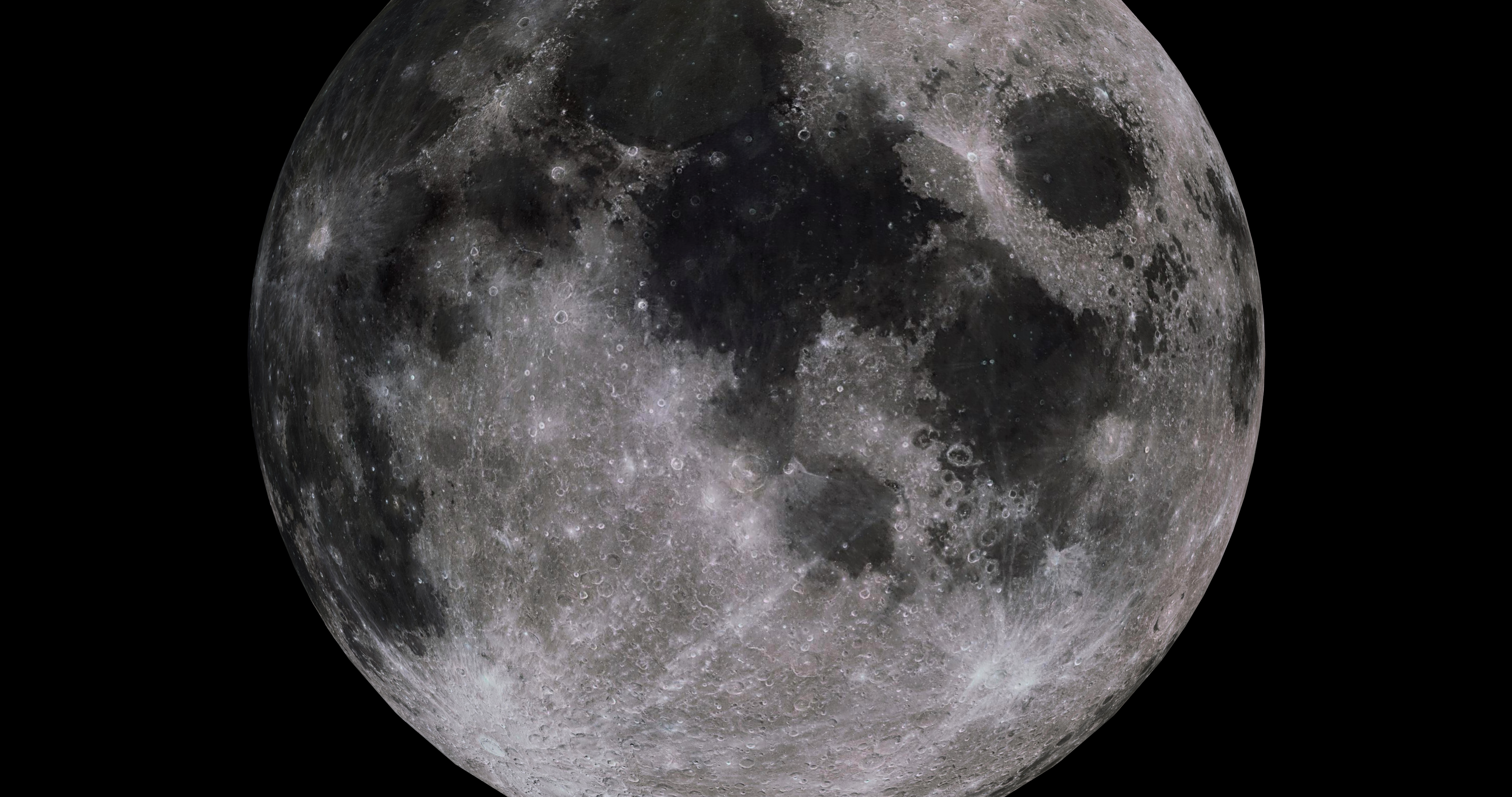 moon 8k 3d model 3ds fbx blend dae obj 210901