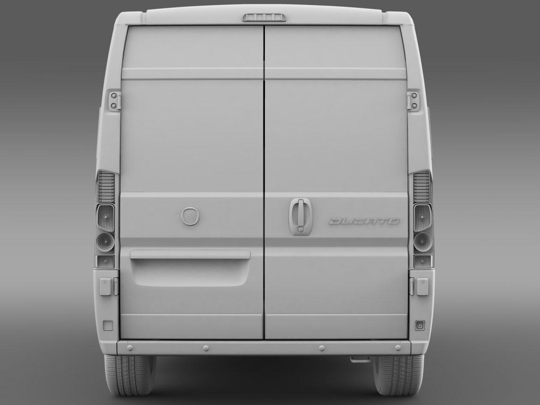 fiat ducato panorama l2h2 2006-2014 3d model 3ds max fbx c4d lwo ma mb hrc xsi obj 210916