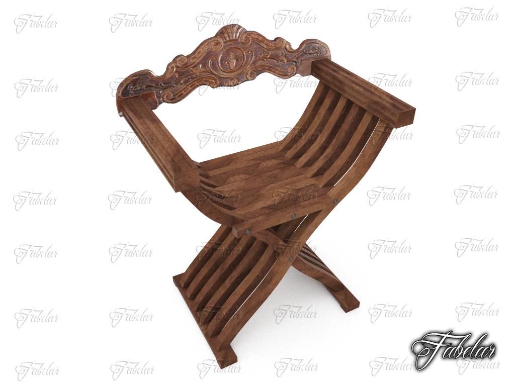 Savonarola chair ( 329.6KB jpg by fabelar )