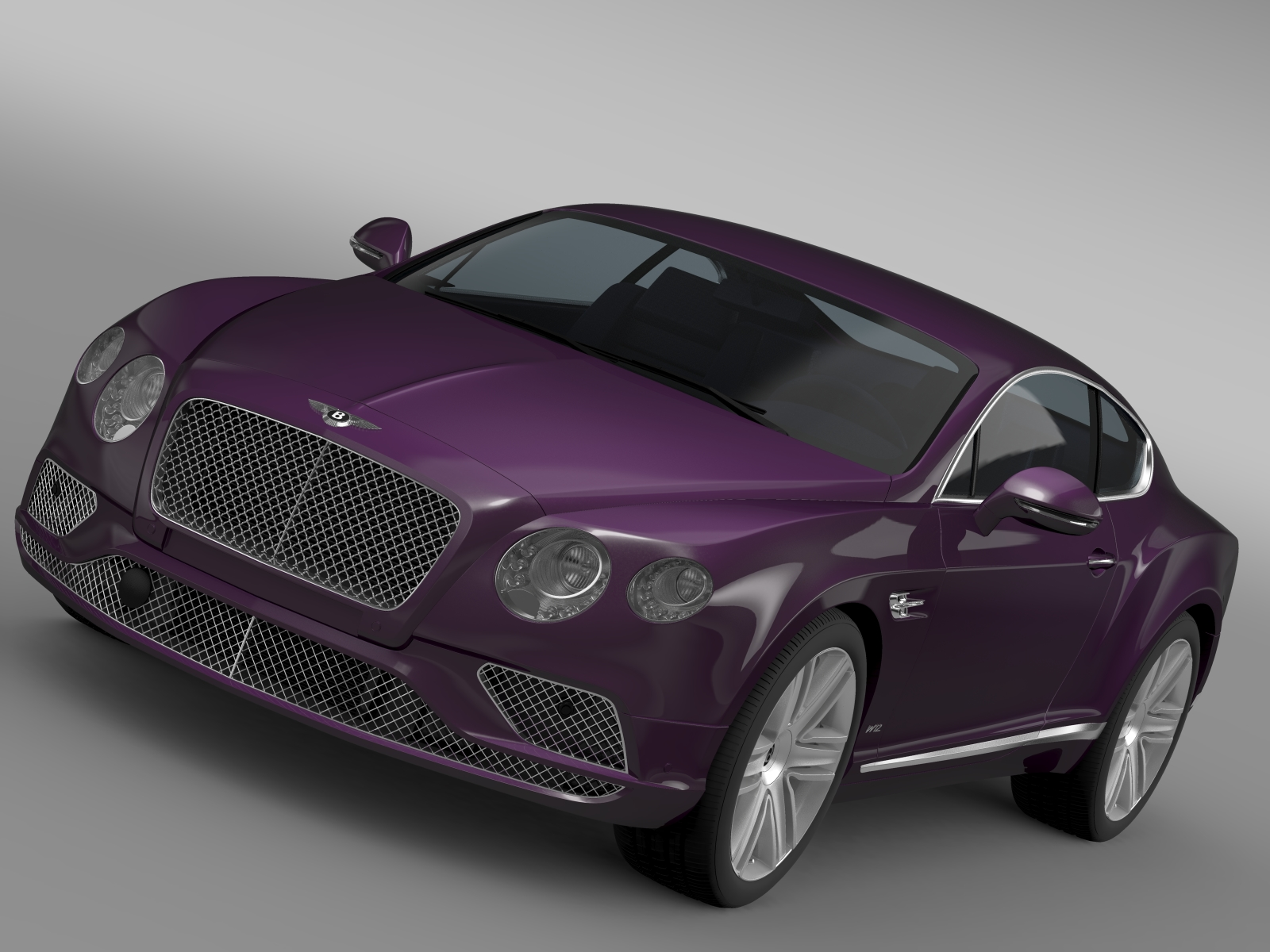 bentley continental gt 2015 3d model 3ds max fbx c4d lwo ma mb hrc xsi obj 210951
