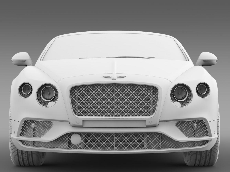 bentley continental gt 2015 3d model 3ds max fbx c4d lwo ma mb hrc xsi obj 210963
