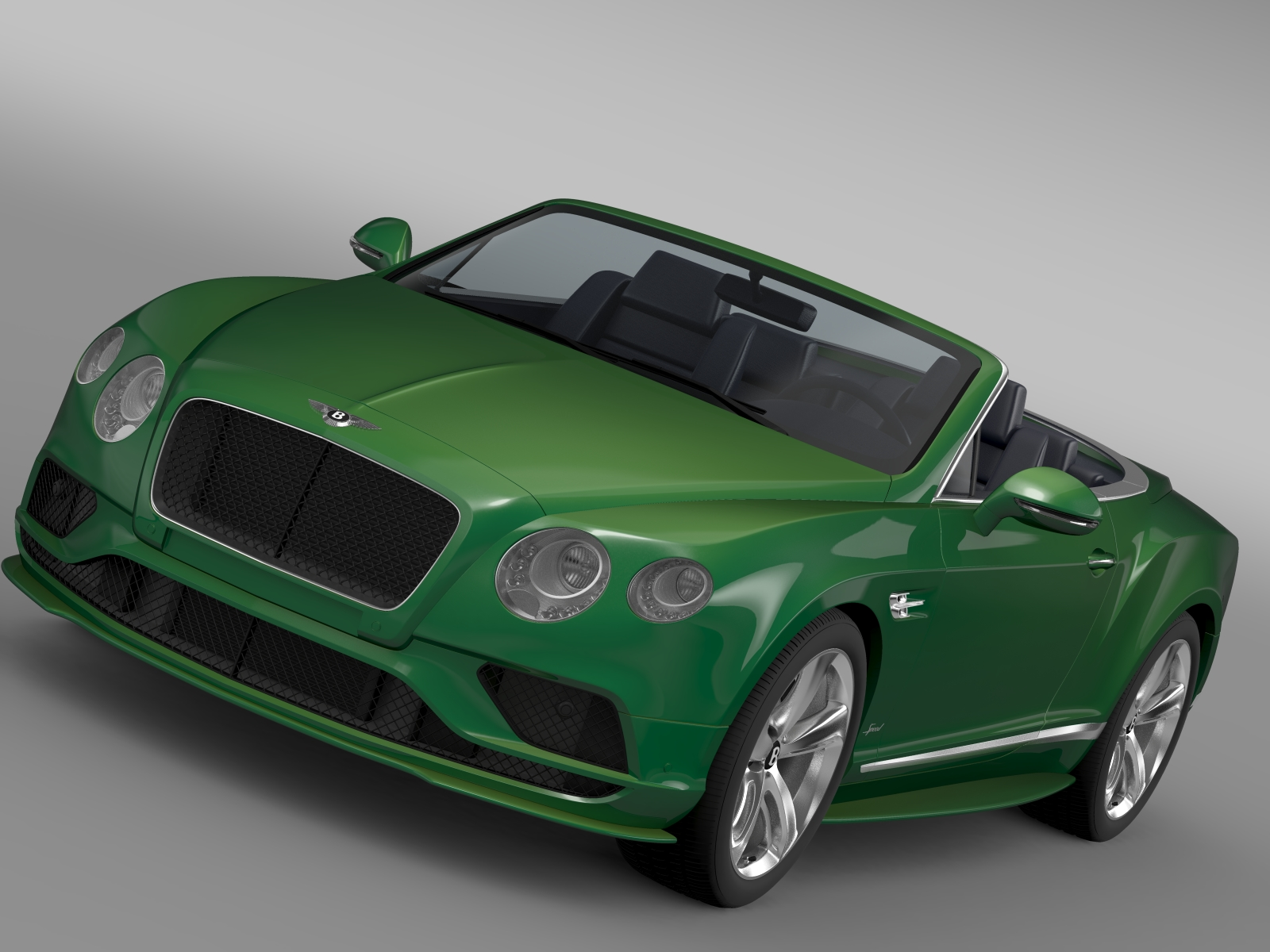 bentley continental gt speed convertible 2015 3d model 3ds max fbx c4d lwo ma mb hrc xsi obj 210971