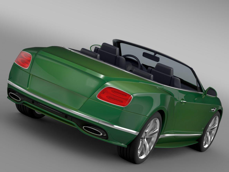 bentley continental gt speed convertible 2015 3d model 3ds max fbx c4d lwo ma mb hrc xsi obj 210972
