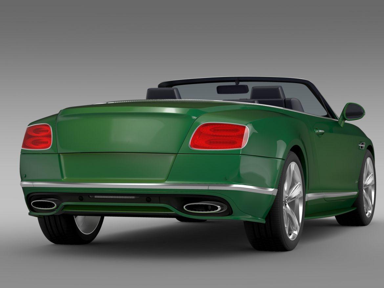 bentley continental gt speed convertible 2015 3d model 3ds max fbx c4d lwo ma mb hrc xsi obj 210979