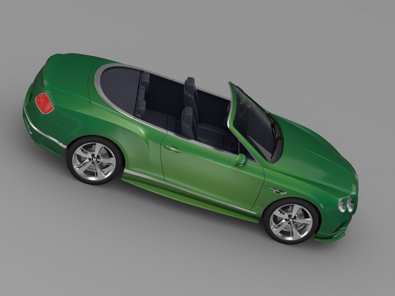 bentley continental gt speed convertible 2015 3d model 3ds max fbx c4d lwo ma mb hrc xsi obj 210981