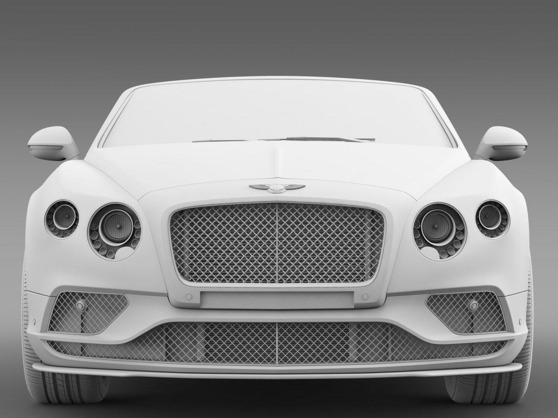 bentley continental gt speed convertible 2015 3d model 3ds max fbx c4d lwo ma mb hrc xsi obj 210983