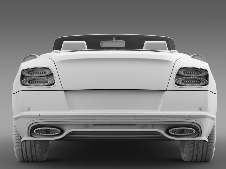 bentley continental gt speed convertible 2015 3d model 3ds max fbx c4d lwo ma mb hrc xsi obj 210984