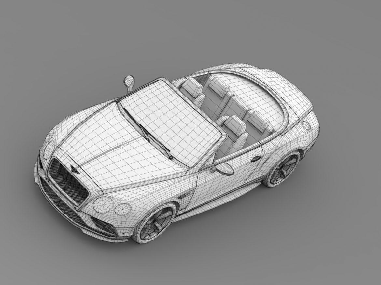 bentley continental gt speed convertible 2015 3d model 3ds max fbx c4d lwo ma mb hrc xsi obj 210987