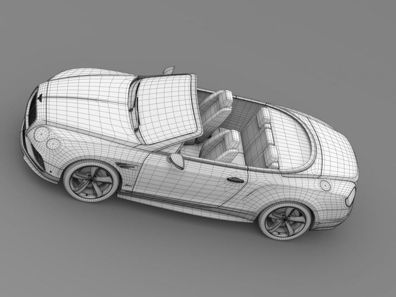 bentley continental gt speed convertible 2015 3d model 3ds max fbx c4d lwo ma mb hrc xsi obj 210988