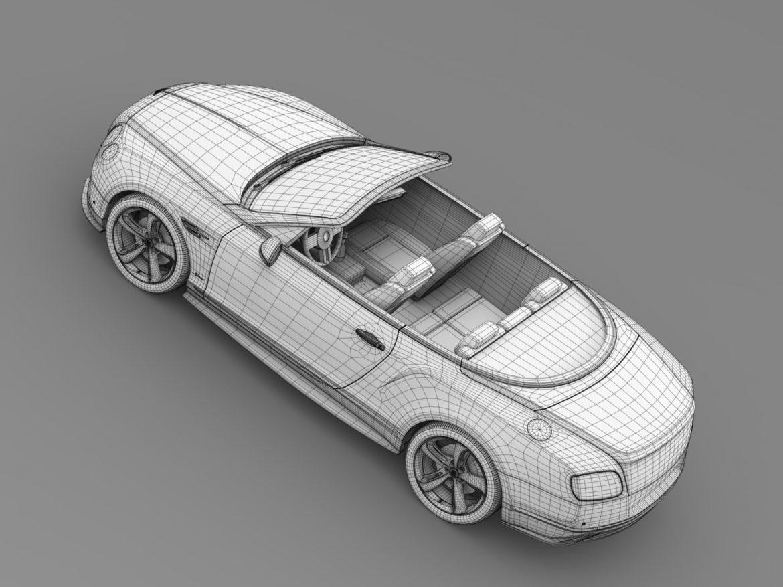 bentley continental gt speed convertible 2015 3d model 3ds max fbx c4d lwo ma mb hrc xsi obj 210989