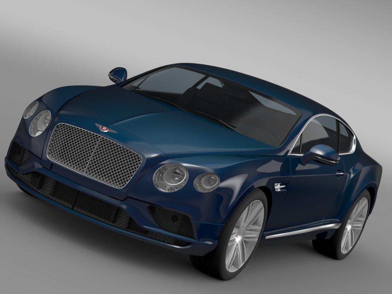 Bentley Continental gt v8 2015 3d modelis 3ds max fbx c4d lwo ma mb hrc xsi obj 210991