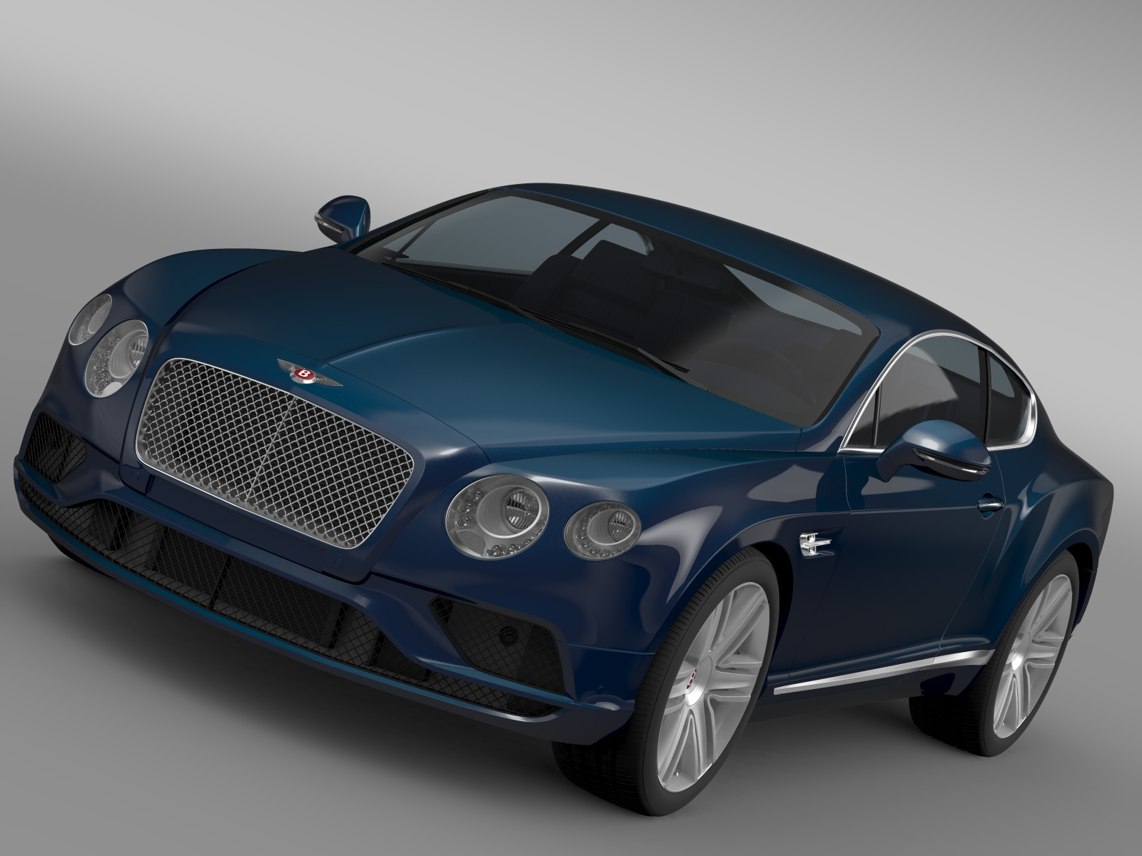 bentley continental gt v8 2015 car 3d model 3ds max fbx c4d lwo ma mb hrc xsi obj 210991