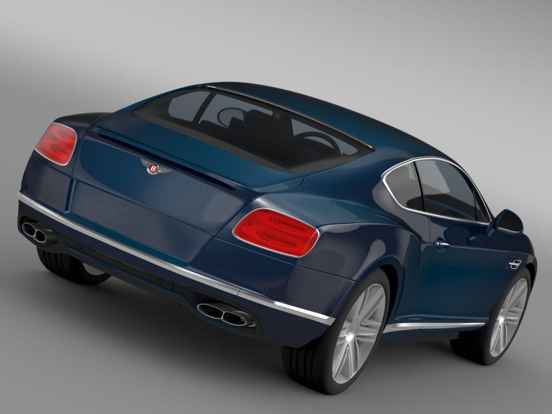 Bentley Continental gt v8 2015 3d modelis 3ds max fbx c4d lwo ma mb hrc xsi obj 210992