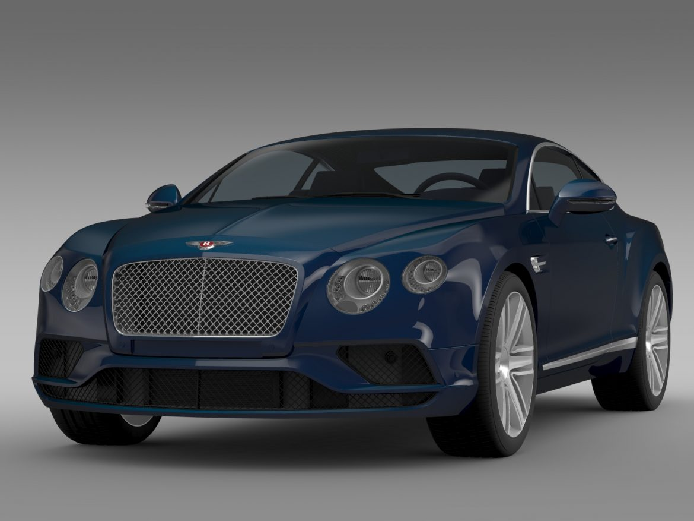 Bentley Continental gt v8 2015 3d modelis 3ds max fbx c4d lwo ma mb hrc xsi obj 210993
