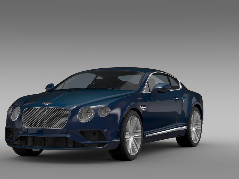 Bentley Continental gt v8 2015 3d modelis 3ds max fbx c4d lwo ma mb hrc xsi obj 210994