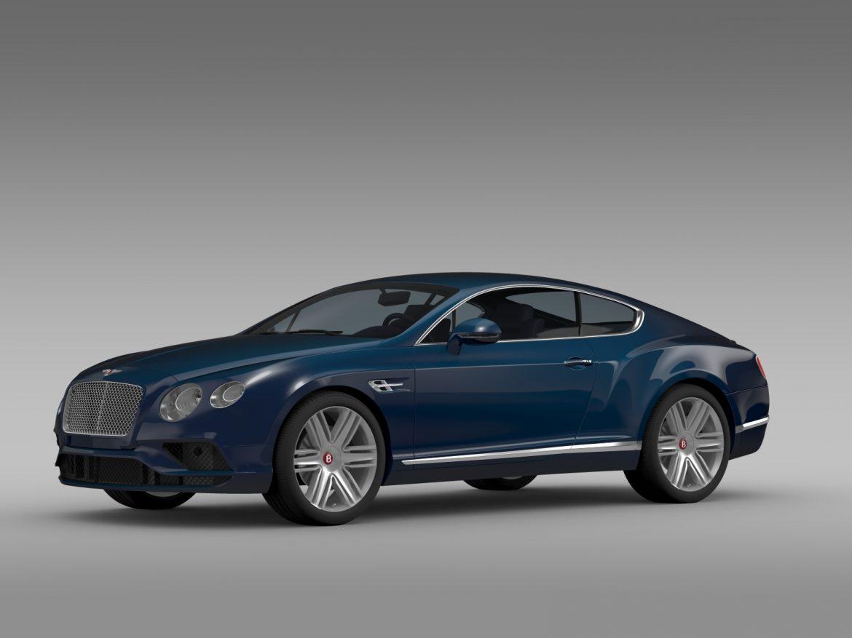 Bentley Continental gt v8 2015 3d modelis 3ds max fbx c4d lwo ma mb hrc xsi obj 210995
