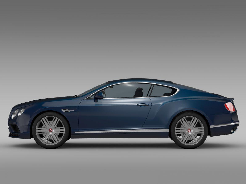 Bentley Continental gt v8 2015 3d modelis 3ds max fbx c4d lwo ma mb hrc xsi obj 210996