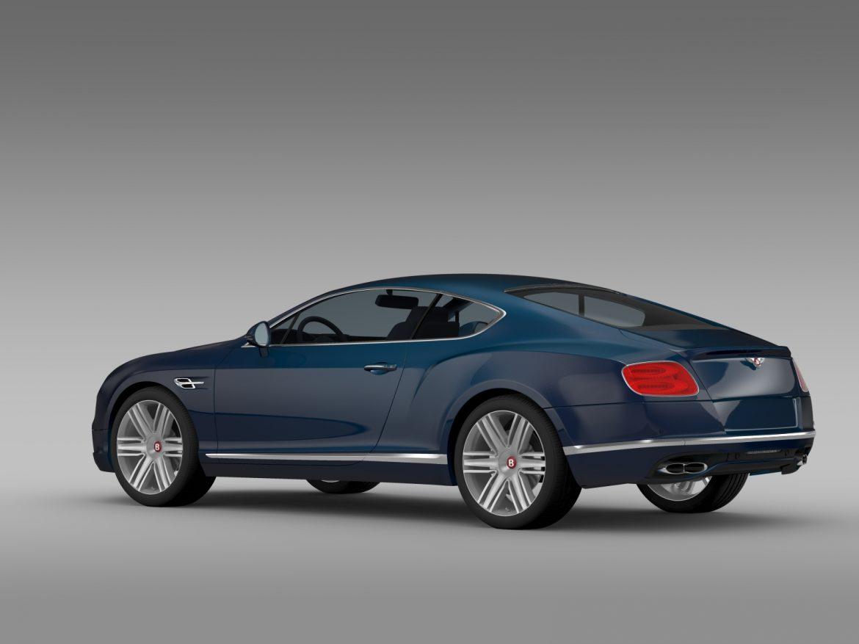 Bentley Continental gt v8 2015 3d modelis 3ds max fbx c4d lwo ma mb hrc xsi obj 210997