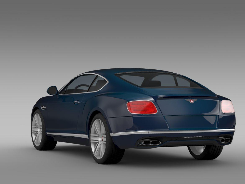 Bentley Continental gt v8 2015 3d modelis 3ds max fbx c4d lwo ma mb hrc xsi obj 210998