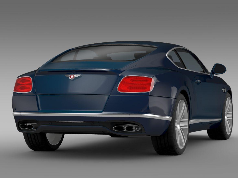 Bentley Continental gt v8 2015 3d modelis 3ds max fbx c4d lwo ma mb hrc xsi obj 210999
