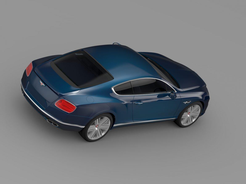 Bentley Continental gt v8 2015 3d modelis 3ds max fbx c4d lwo ma mb hrc xsi obj 211000