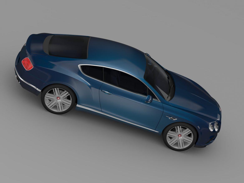 Bentley Continental gt v8 2015 3d modelis 3ds max fbx c4d lwo ma mb hrc xsi obj 211001
